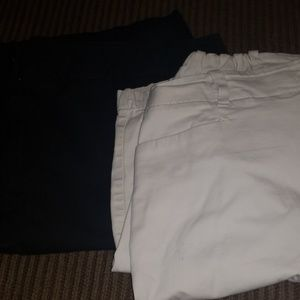 Lot of 2  Talbots shorts in size 16W....NICE!